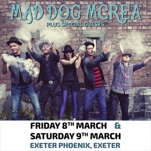 Mad Dog Mcrea + Special Guests