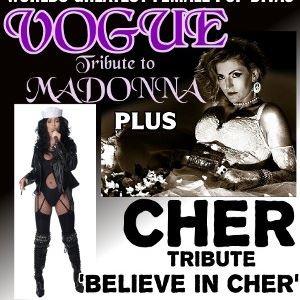 Madonna vs Cher - Live!