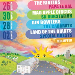 GIN BOWLERS + THE CABARATS + SIKADA LIVE