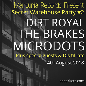 Mancunia Records Secret Warehouse Party #2