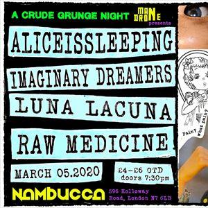 Mandrone Present: A Crude Grunge Night