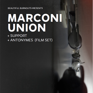 Marconi Union + Special Guests