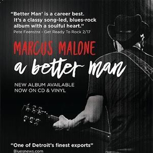 Marcus Malone plus support The Rainbreakers
