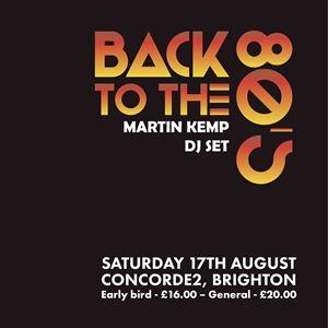 Martin Kemp - Back to 80s Party