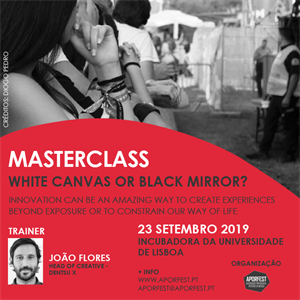 Masterclass: White Canvas or Black Mirror?