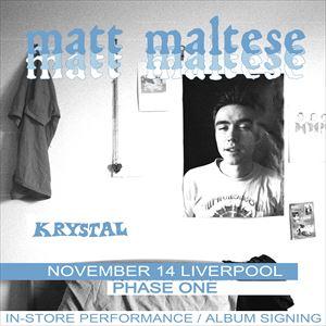 Matt Maltese In-Store Show / Album Signing