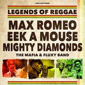 Max Romeo, Eek A Mouse & Mighty Diamonds