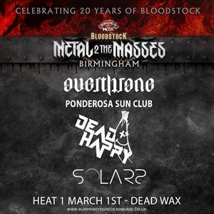 Metal To The Masses - HEAT 1
