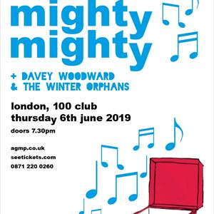 MIGHTY MIGHTY + Davey Woodward
