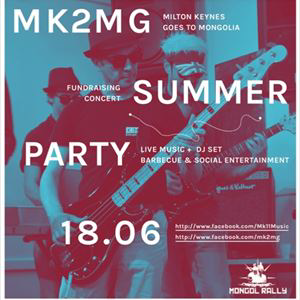 Milton Keynes goes to Mongolia - Summer party
