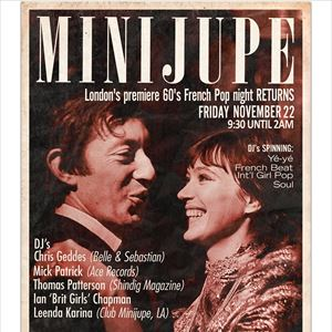 Minijupe Returns 22 Nov with DJs & ANNA (1967)