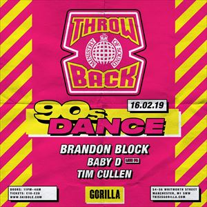Ministry of Sound: 90s Throwback
