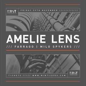 MiNT Presents Amelie Lens