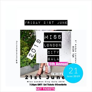 Miss London City Gala 2019