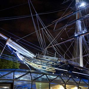 Moby Dick aboard Cutty Sark