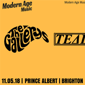 Modern Age Music presents The Gallerys & more