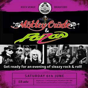 Motley Crude & Poizon Double Header tickets in