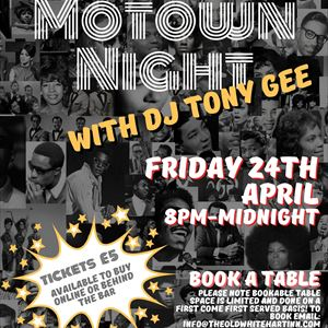 Motown Garden Party with DJ Tony Gee