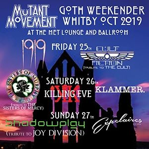 Mutant Movement Goth Weekender, Whitby Oct 2019