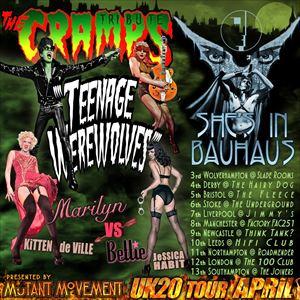 Teenage Werewolves(Cramps tribute)She's In Bauhaus