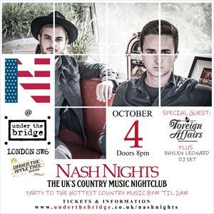 Nash Nights x UTAT presents Foreign Affairs
