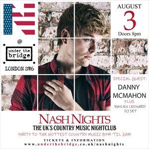 Nash Nights feat. Danny McMahon