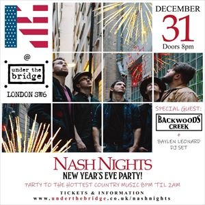 Nash Nights NYE Party Feat. Backwoods Creek