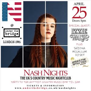 Nash Nights UK x UTAT Presents Izzie Walsh
