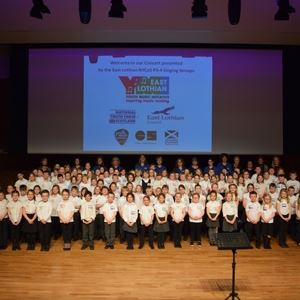 National Youth Choir Of Scotland Group Performance