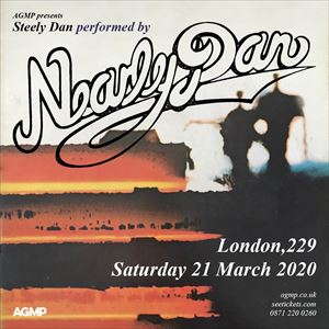 Steely Dan Tour Dates 2020.Nearly Dan Perform Steely Dan From See Tickets