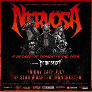 Nervosa - Manchester