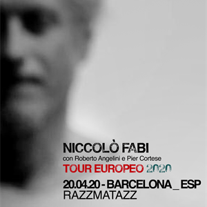 Niccolò Fabi en Madrid