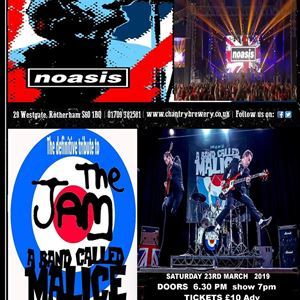 NOASIS V THE JAM A BAND CALLED MALICE