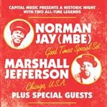 Norman Jay Mbe + Marshall Jefferson