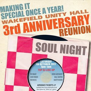 Northern Soul 3rd Anniversary