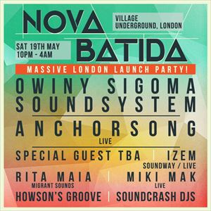 NOVA BATIDA LONDON LAUNCH PARTY