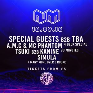 Nu:Motive DNB Freshers Special