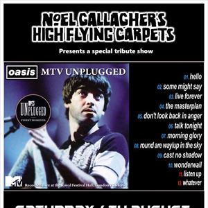 Oasis MTV Unplugged Manchester *Tribute Show*