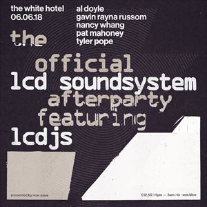 OFFICIAL LCD SOUNDSYSTEM AFTERPARTY FEAT. LCDJs