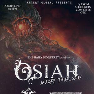 OSIAH BUCKY TOUR- DERBY