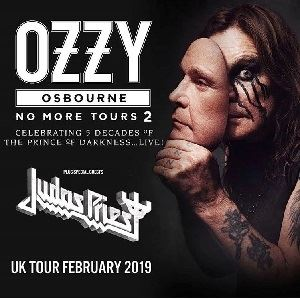 Ozzy Osbourne - No More Tours 2 tickets in