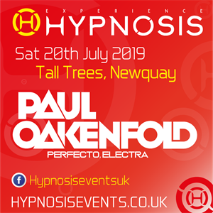 Hypnosis Paul Oakenfold Tall Trees Newquay 200719