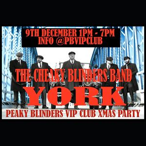 Peaky Blinders Xmas Party from the PB VIP Club