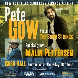 Pete Gow & the Siren Strings with Malin Pettersen
