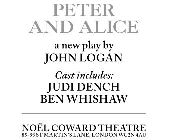 Peter And Alice - Michael Grandage Season