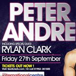 Peter Andre Tour With Support By Rylan Clark