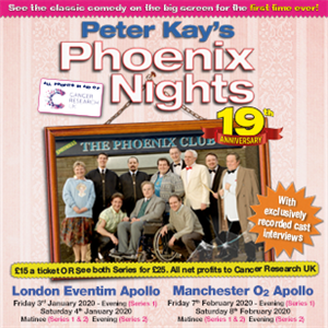 Peter Kay's Phoenix Nights Charity Screenings