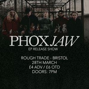 Phoxjaw - 'Goodbye Dinosaur...' EP Release Show