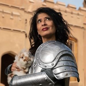 Plosive Comedy In Dulwich With Shappi Khorsandi