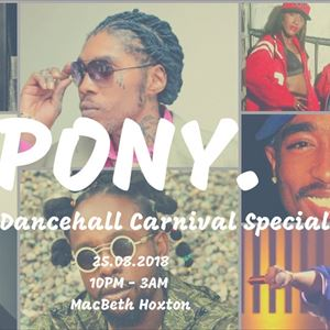 Pony - RnB & Dancehall Carnival Special